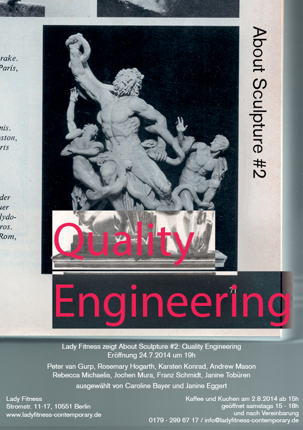 About Sculpture #2:Quality Engineering